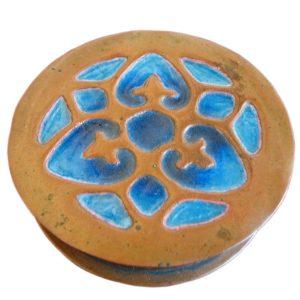 Arts & Crafts Copper Box F6312
