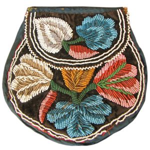 Native American Beaded Bag F6558