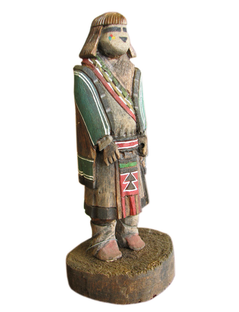 Native American  Carved Figure  F6568