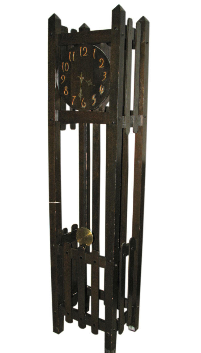 Arts & Crafts  Grandfather Clock F6844