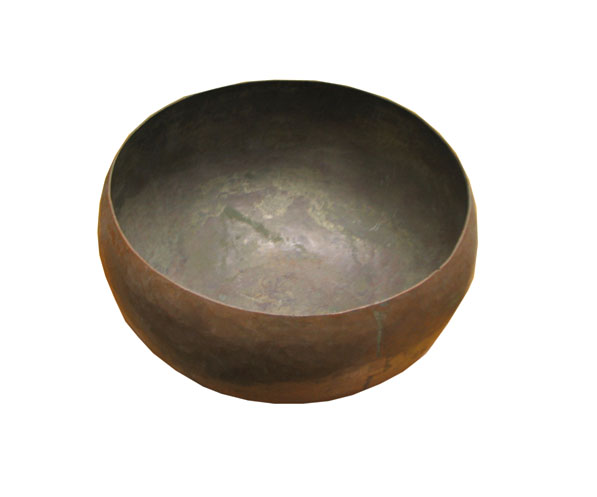 Hand Hammered  Copper Bowl  F6854