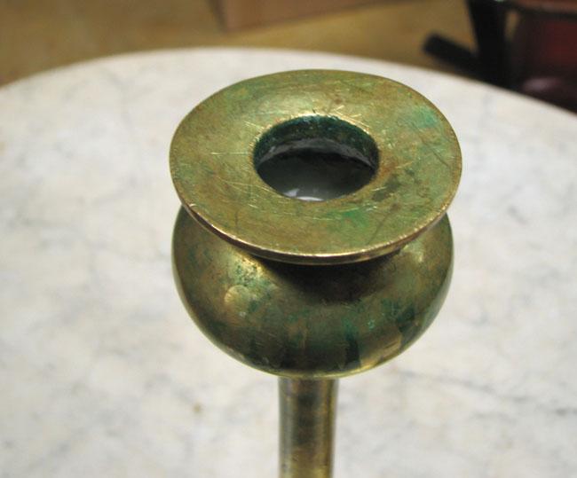 Brass Candlestick Holders F6898