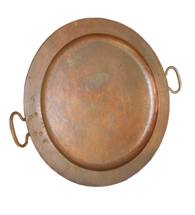 Gustav Stickley Copper Tray F6960