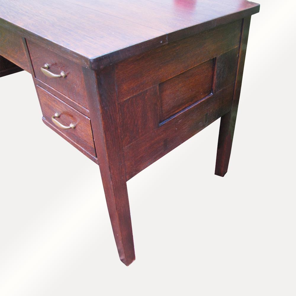 Home Antique Furniture Desks Gustav Stickley Writing Desk F799