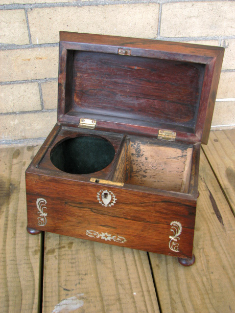 Victorian  Tea Caddy F8270