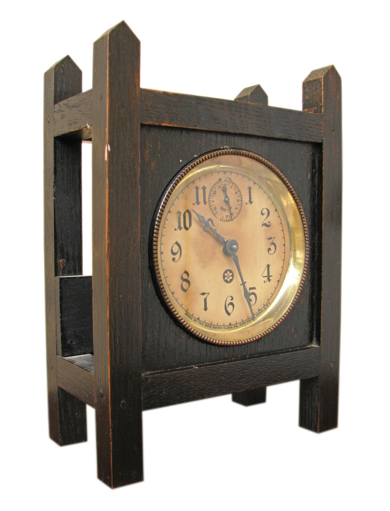 Arts & Crafts  Mantle Clock  F9602