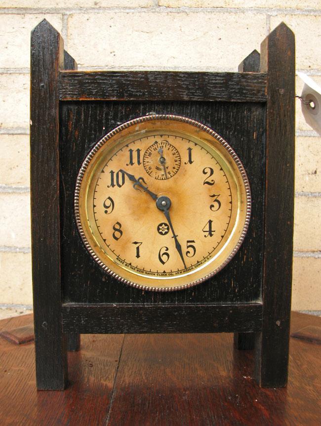 Arts & Crafts  Mantle Clock  F9602