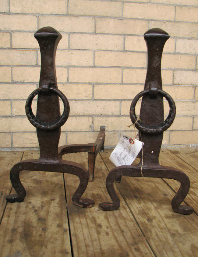 Arts & Crafts Andirons F9669