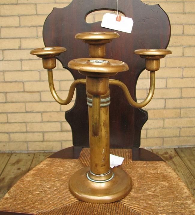 Brass  Candelabrum F9679