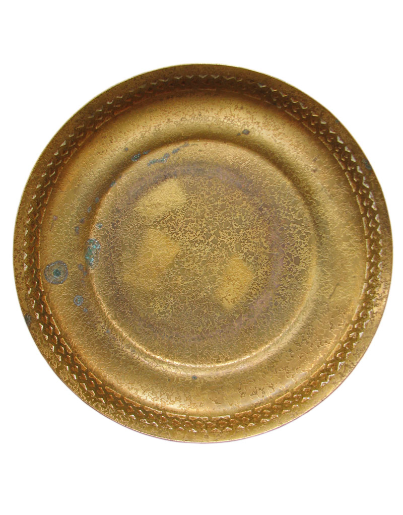 Tiffany Studios  Bronze Tray F9836