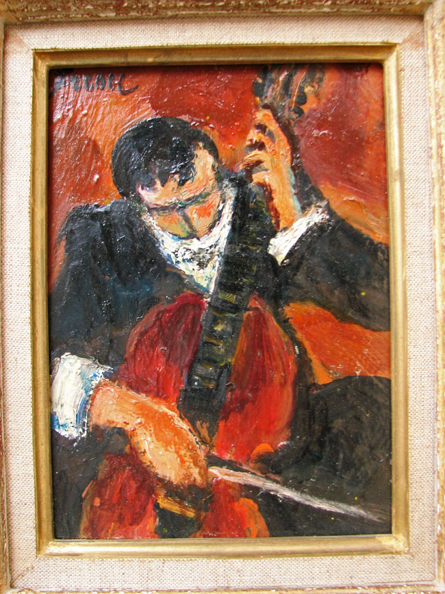 Yitzhak Frenkel  Oil Painting F9866