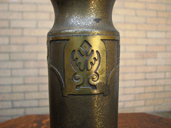 Silvercrest Bronze Vase F9960
