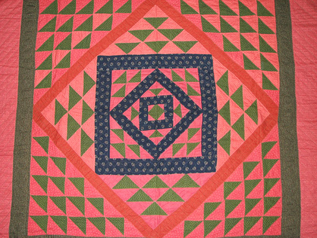 Flying Geese  Pieced Quilt F9973