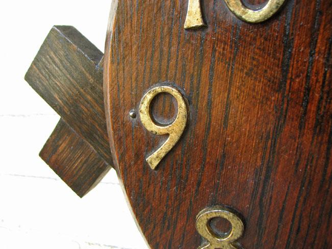 Arts & Crafts Wall Clock F9986