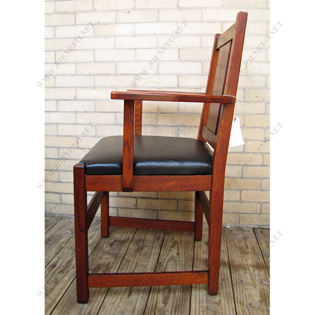 SUPERB Antique L&jG STICKLEY set of six dining chairs | ff1016
