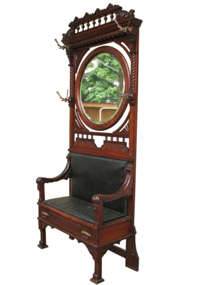 Victorian  Hall Seat FF134