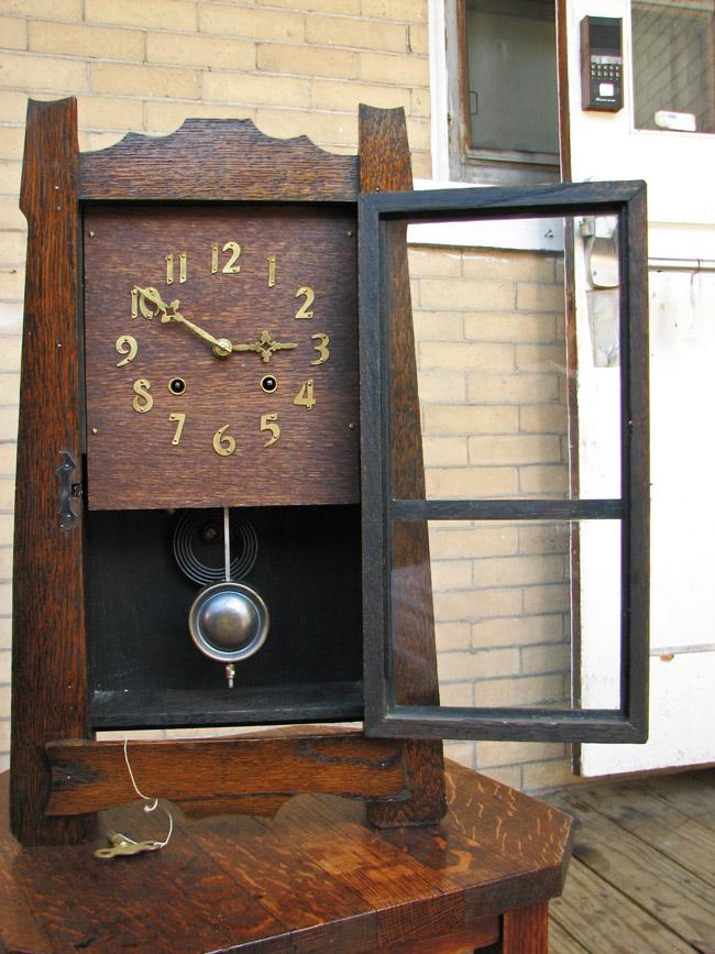 Arts & Crafts Wall Clock FF202 - joenevo