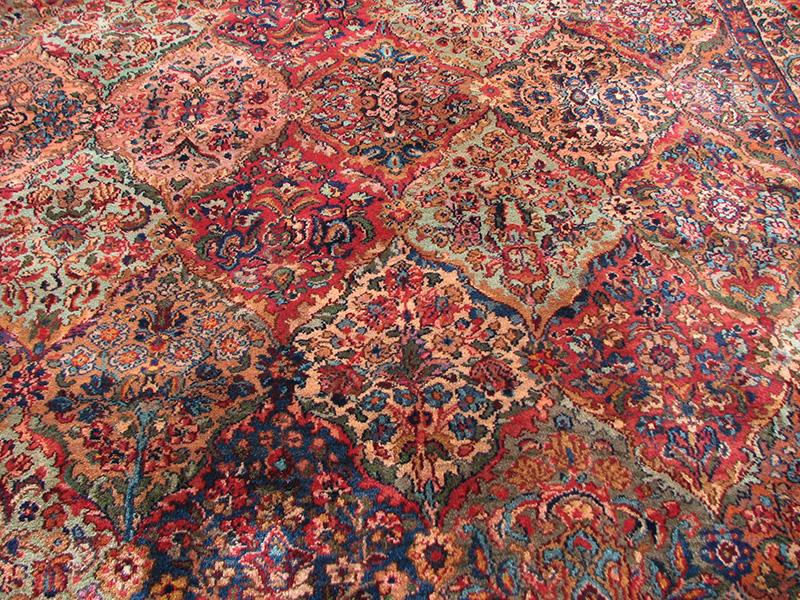 Superb Vintage Karastan Rug Persian Panel Design Rr2020
