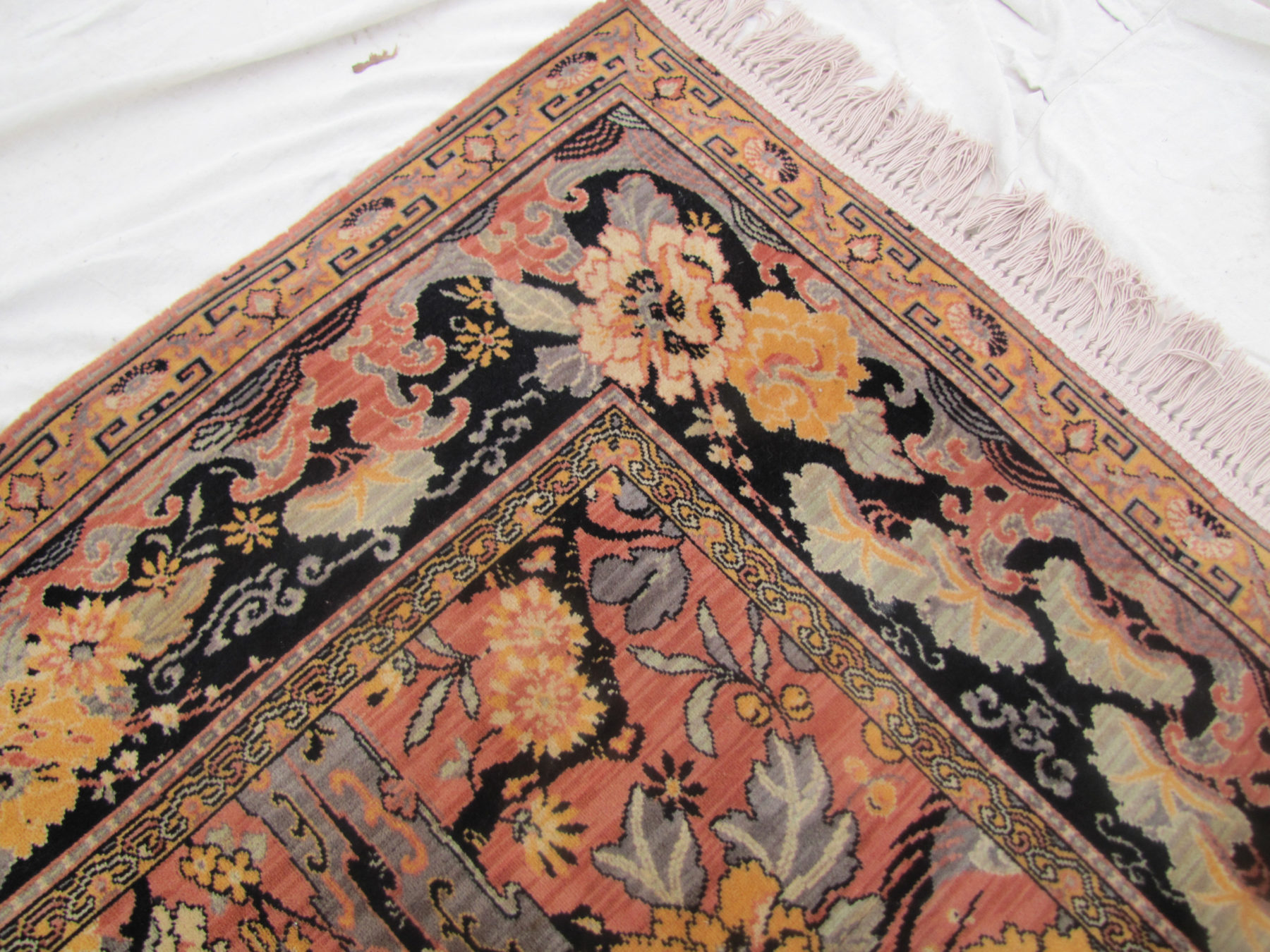 Home Rugs Wilton Superb And Rare Antique Anglo Persian Rug Bird Of Paradise Rr2943