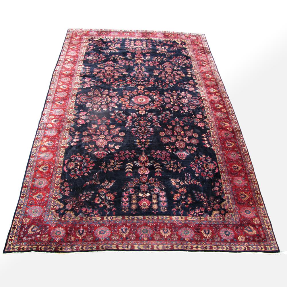 Size Persian Mahajeran Sarough Rug