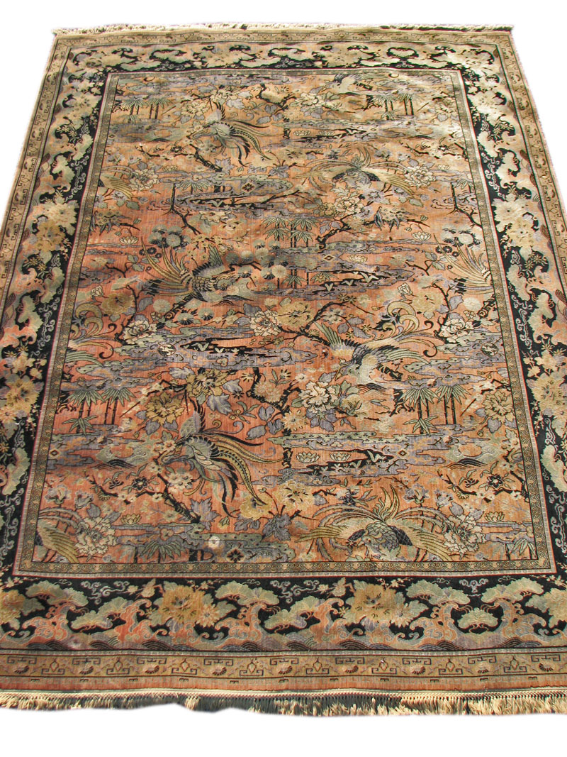 Home Rugs Wilton Anglo Persian Bird Of Paradise Rr337