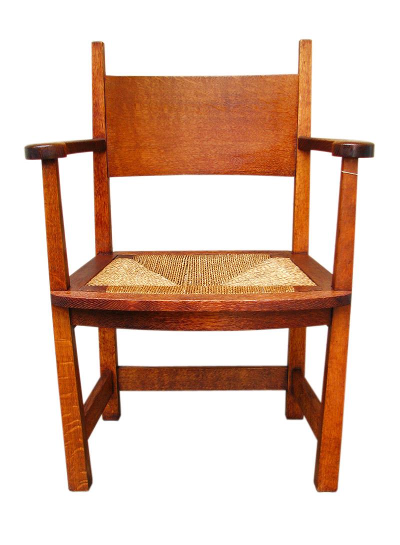 Stickley Brothers Armchair W1029 - joenevo