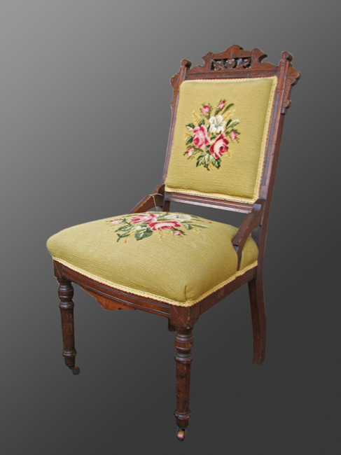 Home » Shop » Antique Furniture » Chairs » Antique Nice three Victorian  chairs in very good condition with original casters w131 - Antique Nice Three Victorian Chairs In Very Good Condition With