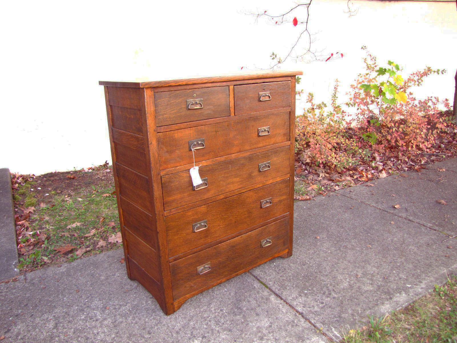 Early Antique L Amp Jg Stickley Dresser W1837 Joenevo