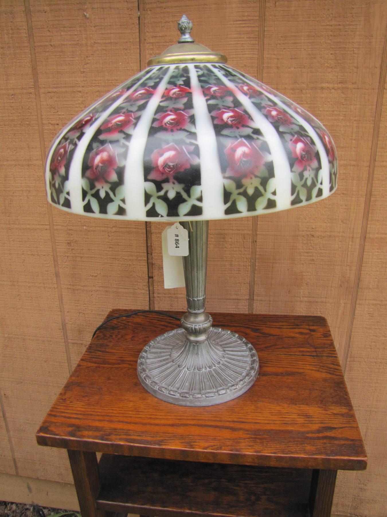 Home » Shop » Antique Furniture » Lighting » Vintage Pittsburgh Table Lamp  w2084 - Vintage Pittsburgh Table Lamp W2084 - Joenevo
