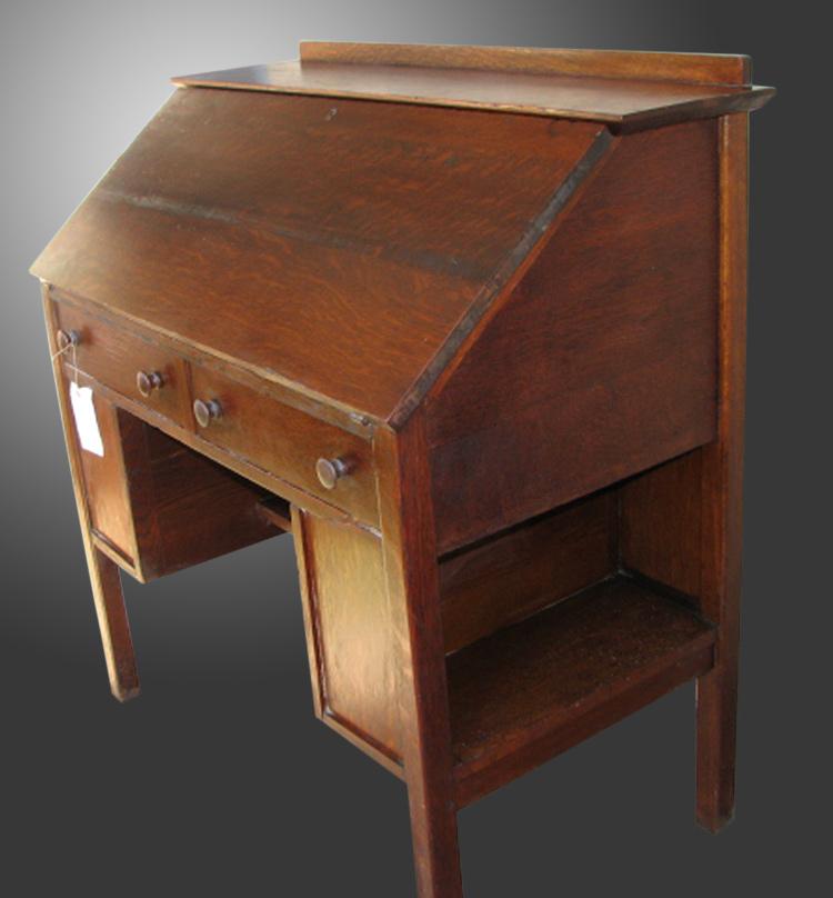 Home » Shop » Antique Furniture » Desks » Antique L&JG Stickley Mission  Arts and Crafts Drop Front Desk w2217 - Antique L&JG Stickley Mission Arts And Crafts Drop Front Desk W2217