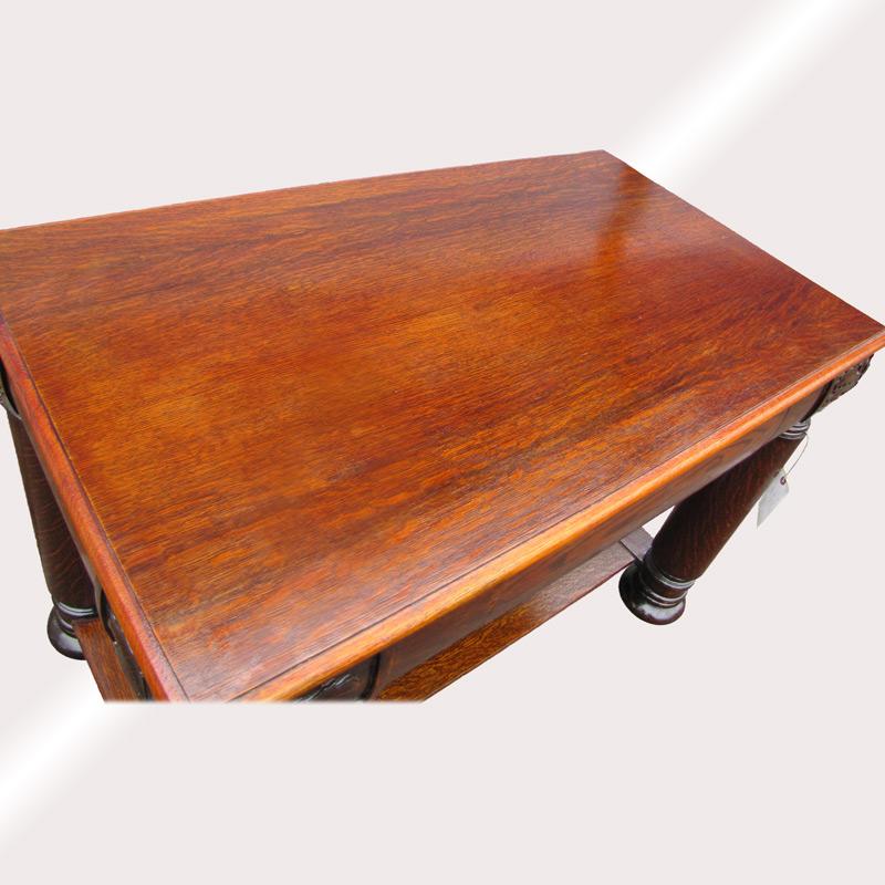 Home » Shop » Antique Furniture » Tables » Superb Antique Larkin Buffalo Ny  Oak Table w230 - Superb Antique Larkin Buffalo Ny Oak Table W230 - Joenevo