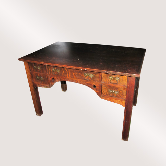 Home » Shop » Antique Furniture » Tables » Antique U201cBaileyu201d Library Table  (In Stickley Brothers Style) W2370