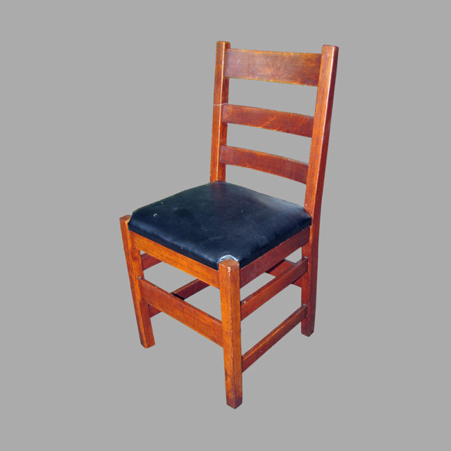 Home » Shop » Antique Furniture » Chairs » Antique GUSTAV STICKLEY Chair  (Model # 306 1/2) W2496a