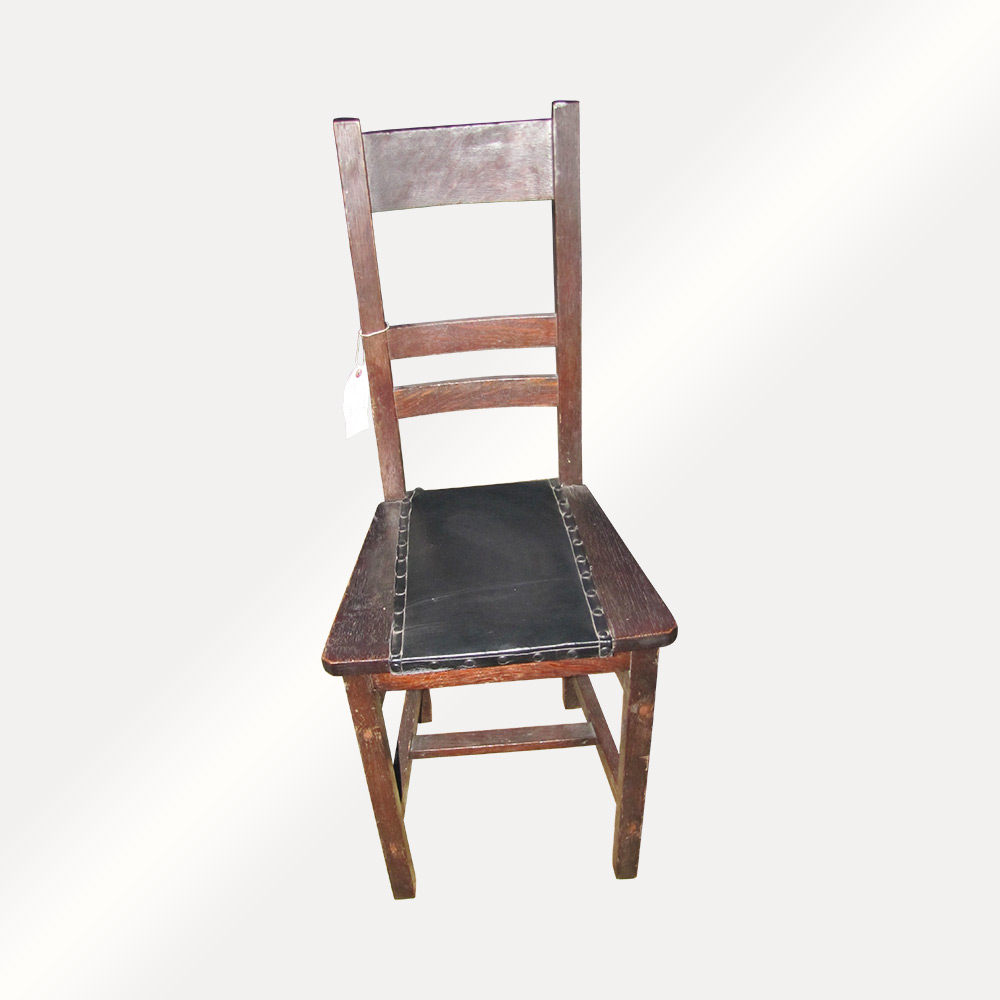 Home » Shop » Antique Furniture » Chairs » Antique Narrow Arts And Crafts  Hall Chair w2704 - Antique Narrow Arts And Crafts Hall Chair W2704