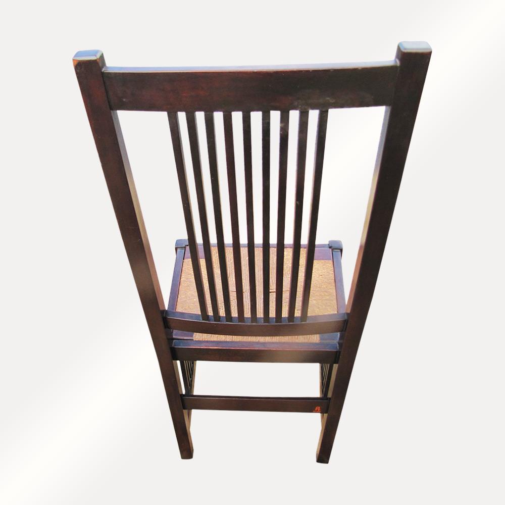 Home » Shop » Antique Furniture » Chairs » Antique Gustav Stickley Spindle  Chair w2922 - Antique Gustav Stickley Spindle Chair W2922 - Joenevo