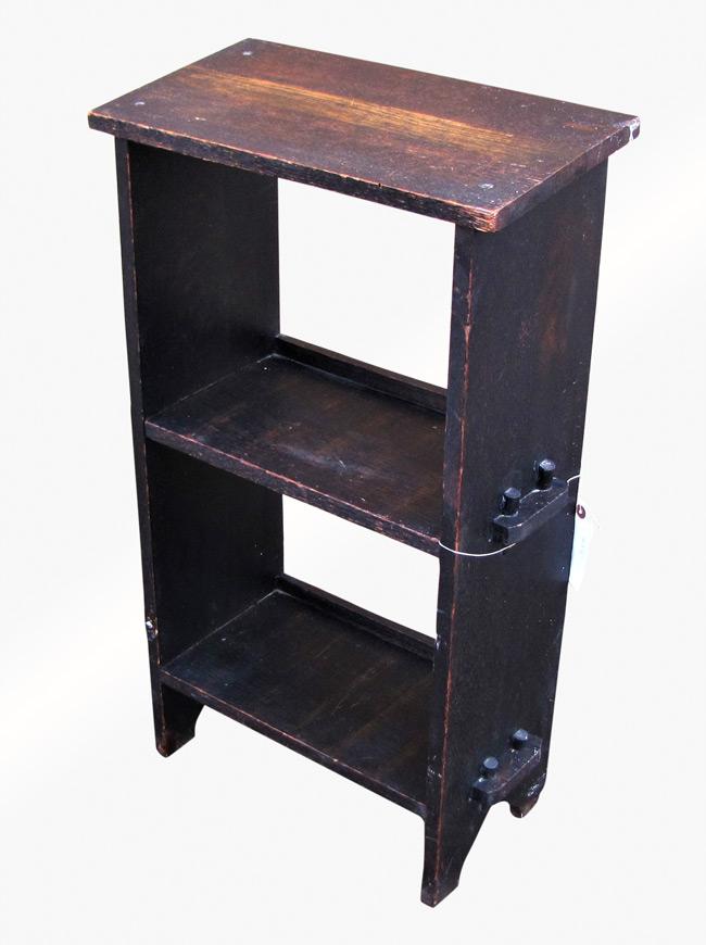 Home » Shop » Antique Furniture » Bookcases » Antique Arts U0026 Crafts Book/  Magazine Stand W3081 (Stickley Era)