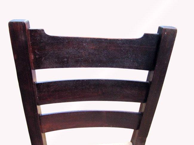 Home » Shop » Antique Furniture » Chairs » Antique Early Gustav Stickley Side  Chair w3131 - Antique Early Gustav Stickley Side Chair W3131 - Joenevo