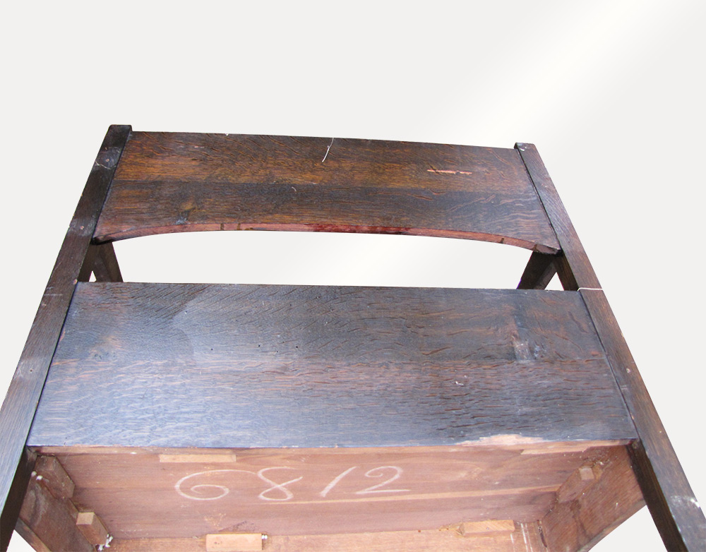 Home » Shop » Antique Furniture » Settles » Antique Michigan Chair Company  Arts and Craft Bench W3147 - Antique Michigan Chair Company Arts And Craft Bench W3147 - Joenevo