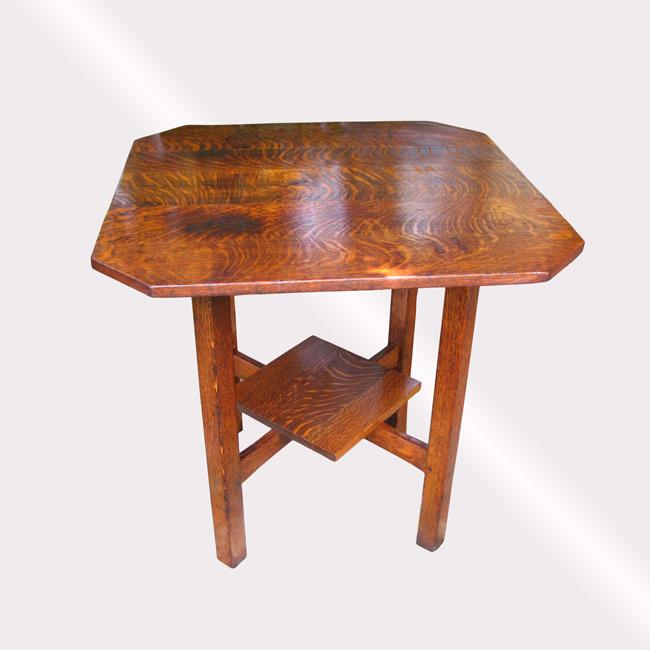 Home » Shop » Antique Furniture » Tables » Superb Nice Lu0026jG Stickley Table  W3297