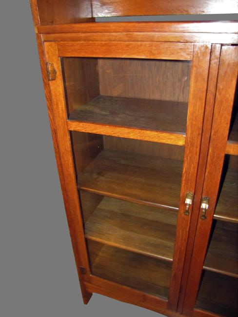 Great Antique Limbert 3 Door Bookcase W4041 Joenevo