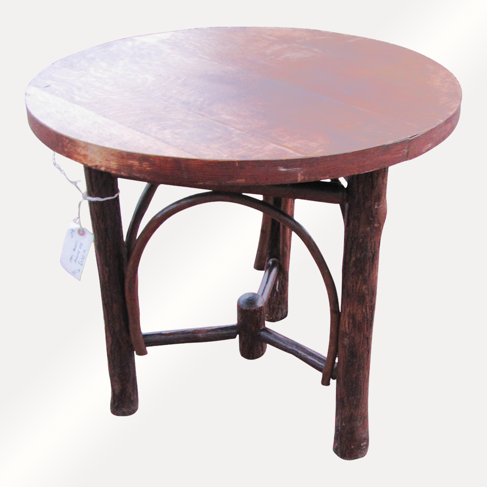 Home » Shop » Antique Furniture » Tables » Antique Old Hickory Coffee/ End  Table W5243