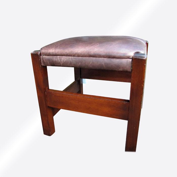 Home » Shop » Antique Furniture » Footstools » Antique Arts U0026 Crafts  Footstool W5388